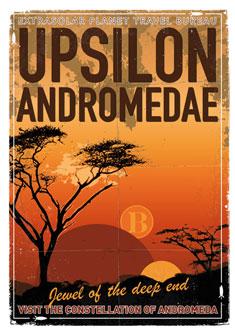 Exoplanet 06 Travel Poster UpsilonAndromedae 4 235px