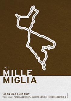 Legendary Races  1927 Mille Miglia 235px