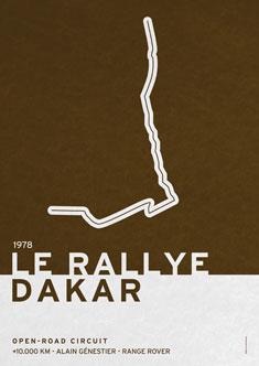 Legendary Races  1978 Le rallye Dakar 235px