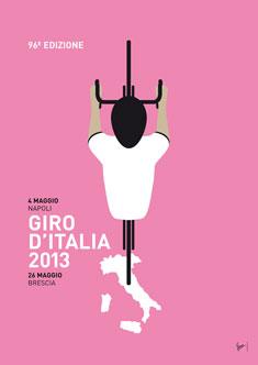 MY GIRO D'ITALIA MINIMAL POSTER  2013 235px