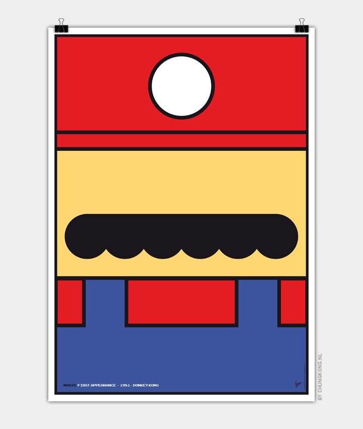 Minimalist Super Mario Posters