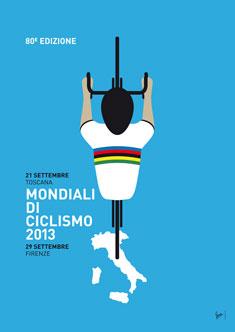 MY Mondiali di Ciclismo MINIMAL POSTER  2013 235px