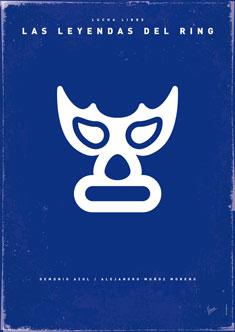 My LAS LEYENDAS DEL RING bluedemon poster 235px