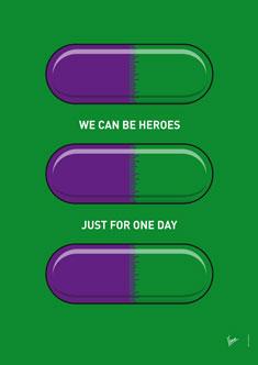 My SUPERHERO PILLS  The Hulk 235px