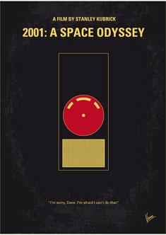 No003 My 2001 A space odyssey 2000 minimal movie poster 235PX