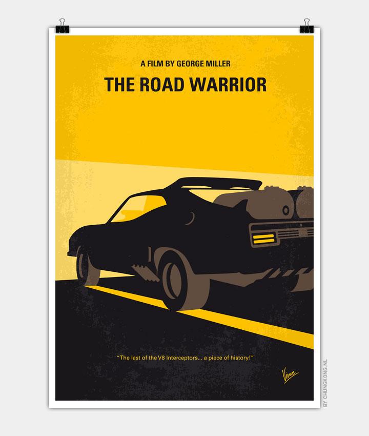 No051 My Mad Max 2 Road Warrior minimal movie poster ...
