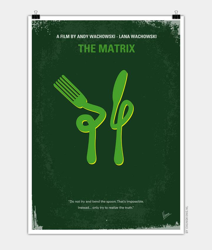 No093 My The Matrix minimal movie poster - CHUNGKONG