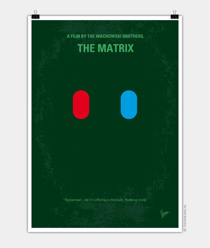 No117 My MATRIX minimal movie poster - CHUNGKONG