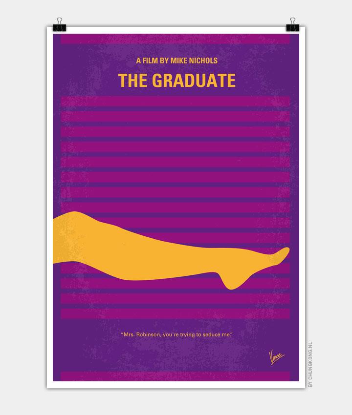 No135 My THE GRADUATE minimal movie poster - CHUNGKONG