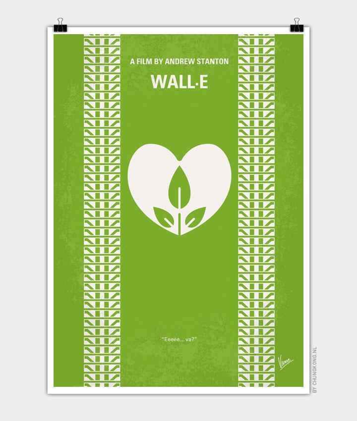 No235 My Wall E Minimal Movie Poster Chungkong
