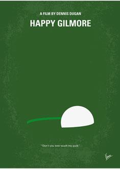 No256-My-Happy-Gillmore-minimal-movie-poster-235PX