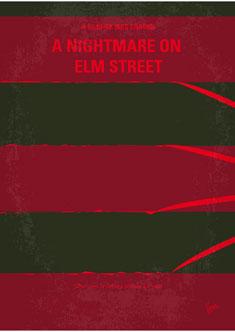 No265-My-NIGHTMARE-ON-ELMSTREET-minimal-movie-poster-235PX