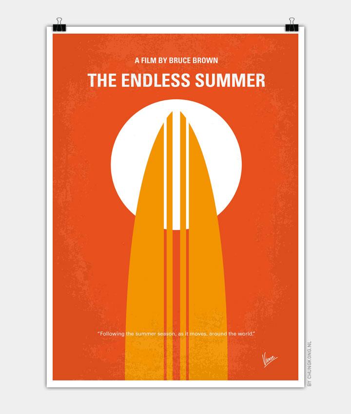 No274 My The Endless Summer minimal movie poster - CHUNGKONG