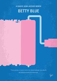 No359-My-Betty-Blue-minimal-movie-poster-235px