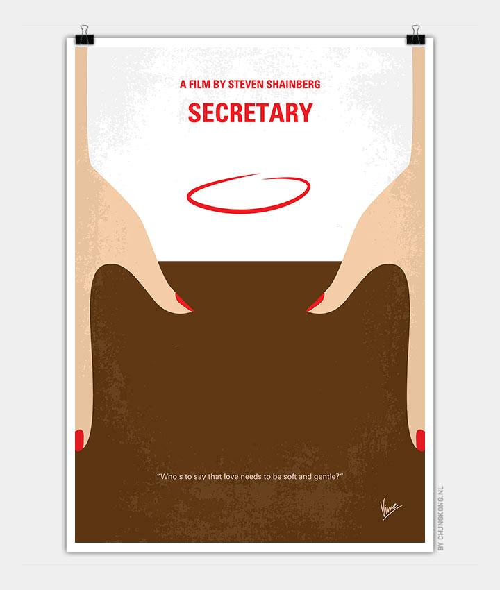 no371 my secretary minimal movie poster chungkong