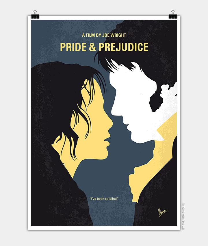 No584 My Pride And Prejudice Minimal Movie Poster Chungkong