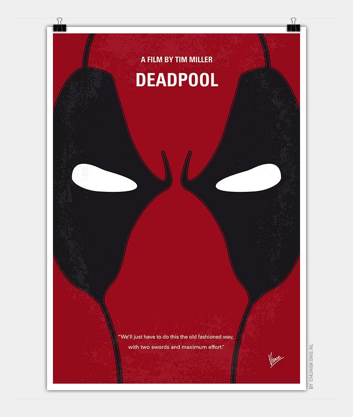 No639 My Deadpool Minimal Movie Poster Chungkong
