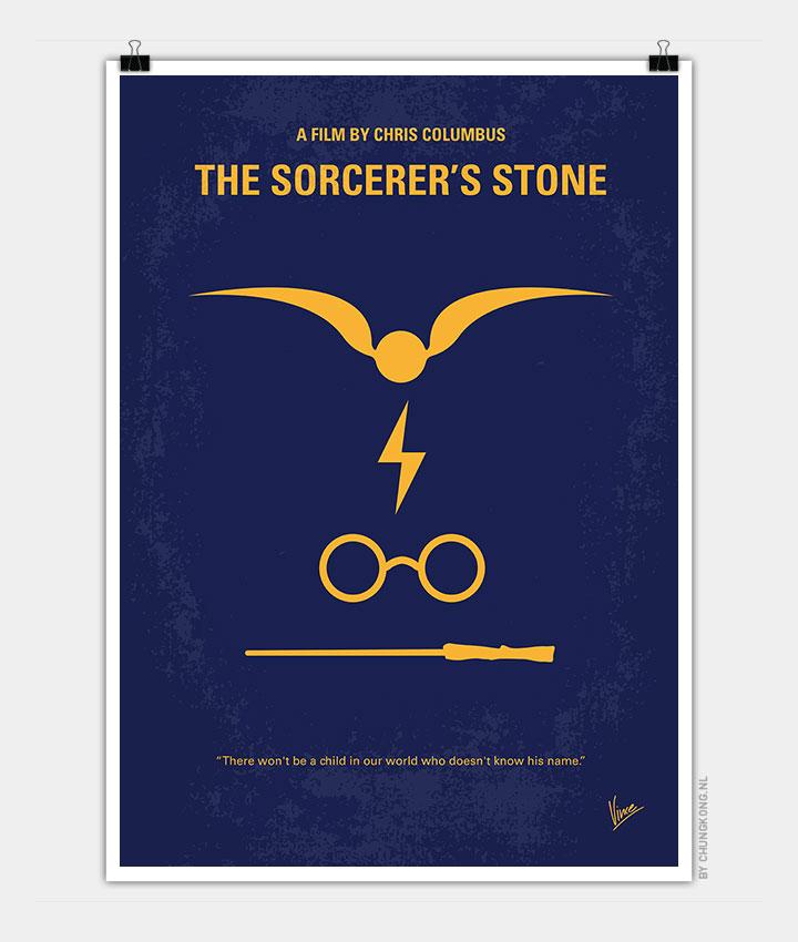 No101 My Harry Potter Minimal Movie Poster Chungkong