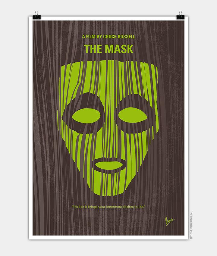 no647 my the mask minimal movie poster chungkong