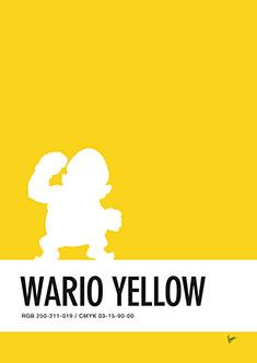 no43-my-minimal-color-code-poster-wario-235px