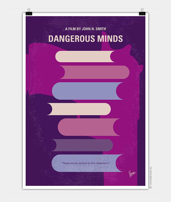 Minimalist Classroom Jobs ~ No my dangerous minds minimal movie poster chungkong