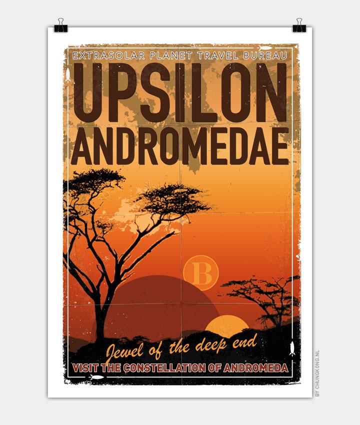 Exoplanet 06 Travel Poster UpsilonAndromedae 4 720px