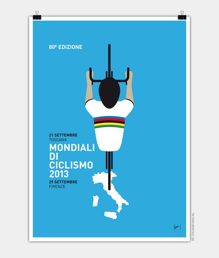 MY Mondiali di Ciclismo MINIMAL POSTER  2013 720px