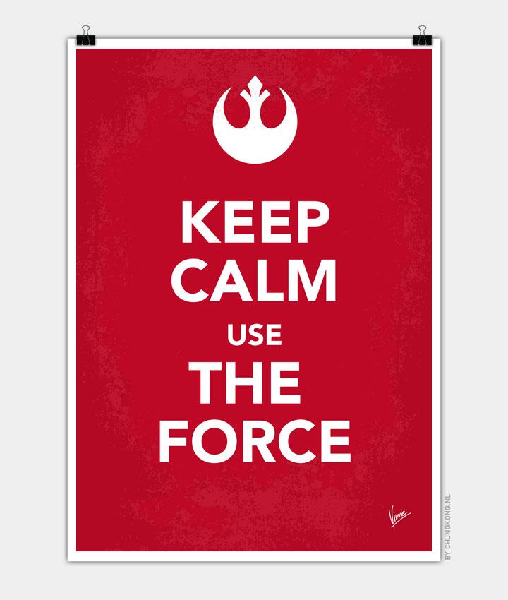 My Keep Calm Star Wars  Rebel Alliance poster 720px