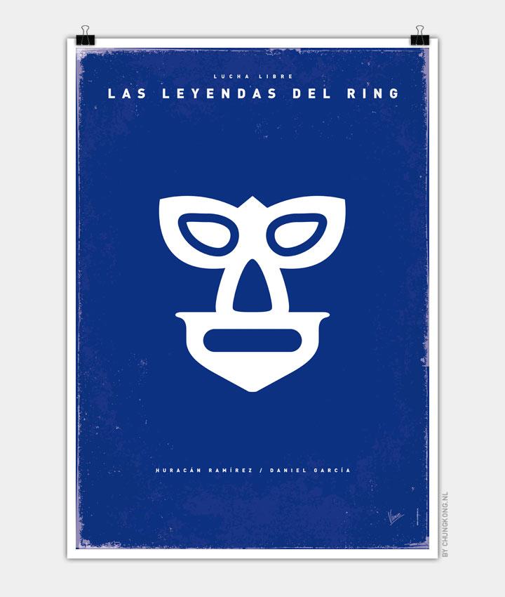 My LAS LEYENDAS DEL RING Hurricane Ramirez poster 720px