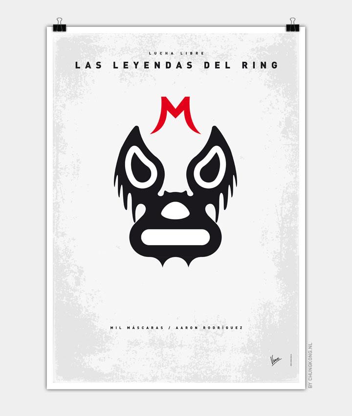 My LAS LEYENDAS DEL RING Mil Máscaras poster 720px