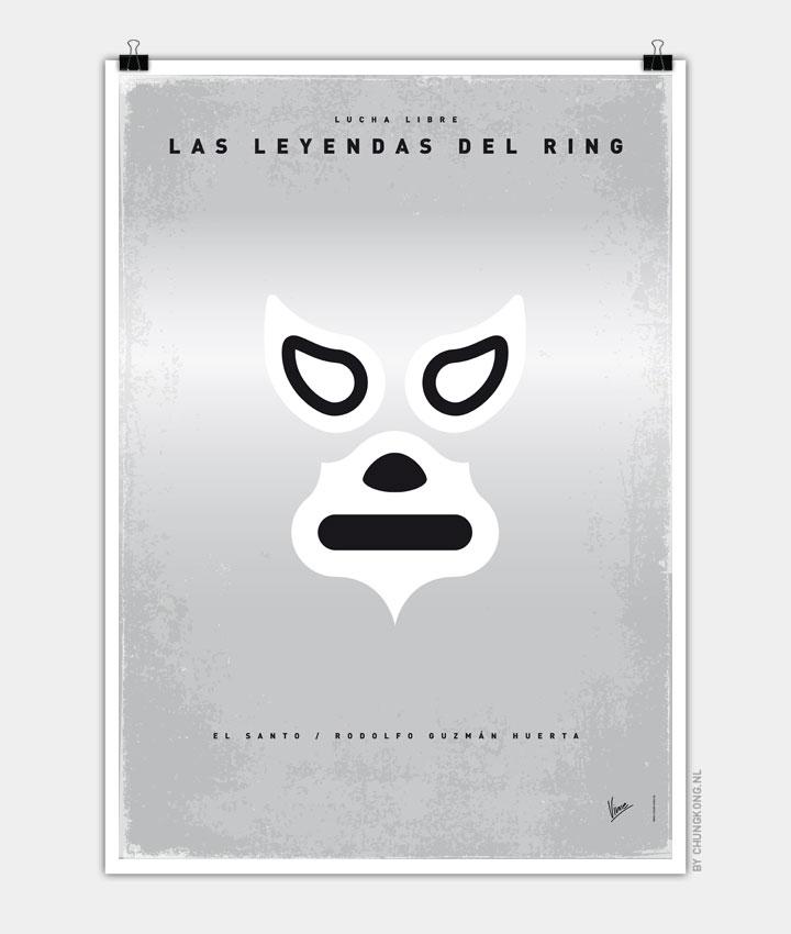 My LAS LEYENDAS DEL RING elsanto poster 720px