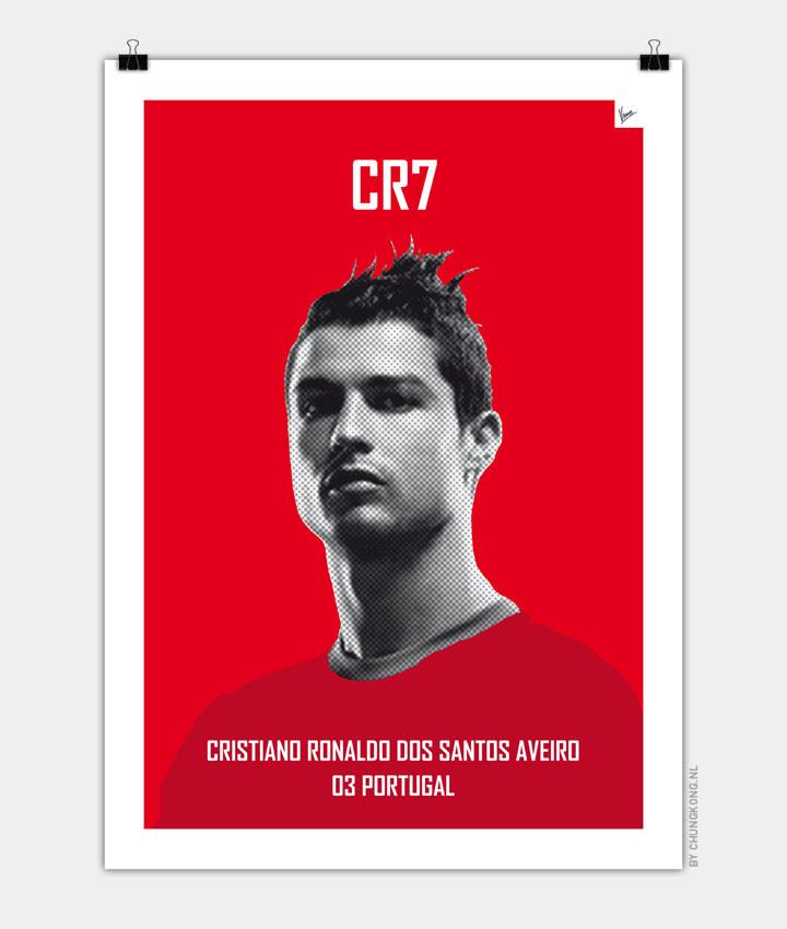 My Ronaldo soccer legend poster720px