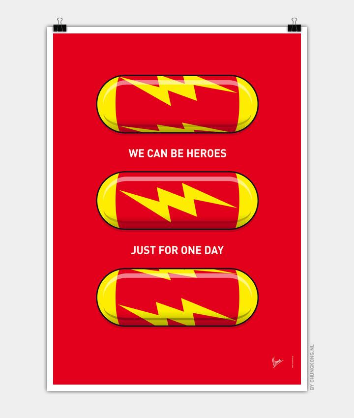 My SUPERHERO PILLS  The Flash 720px
