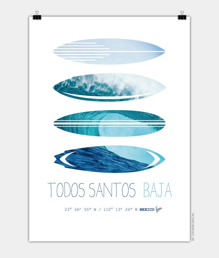 My Surfspots poster 6 Todos Santos Baja 720px