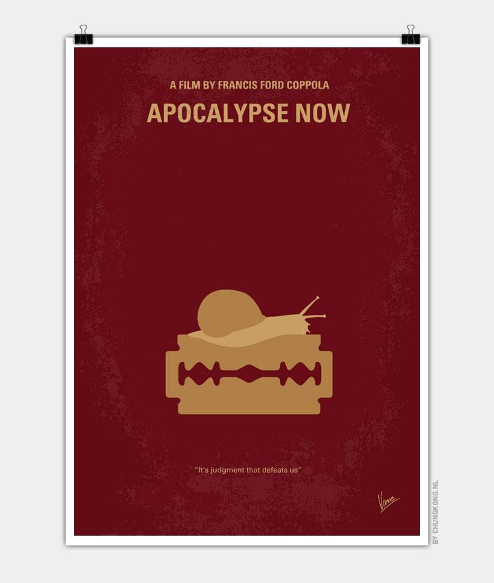 No006 My Apocalypse Now minimal movie poster 720px