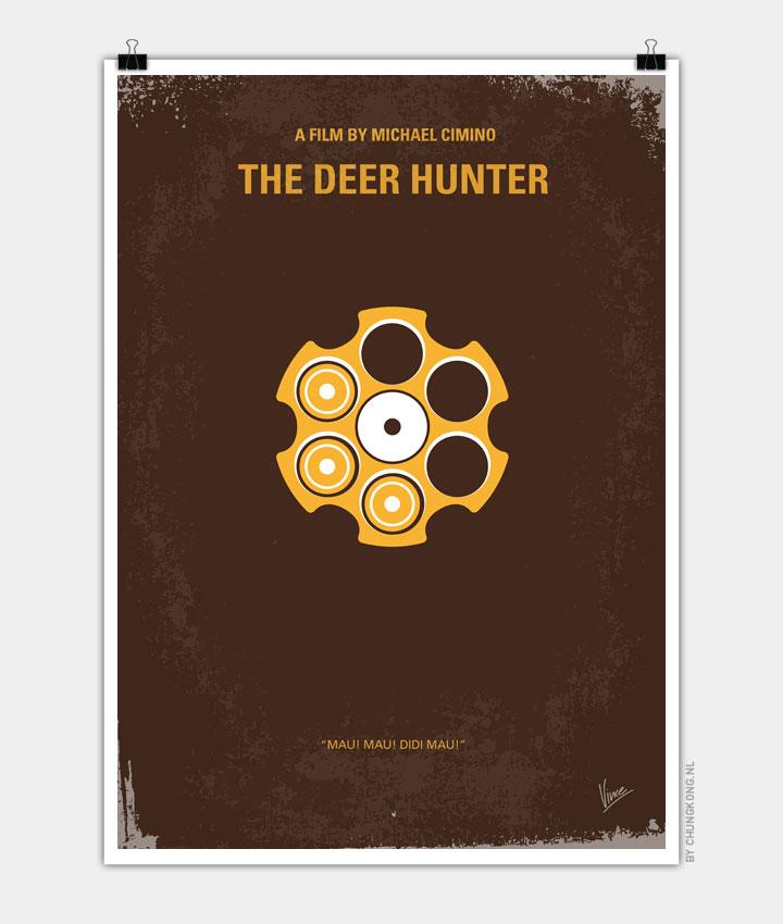 No019 My Deerhunter minimal movie poster 720px