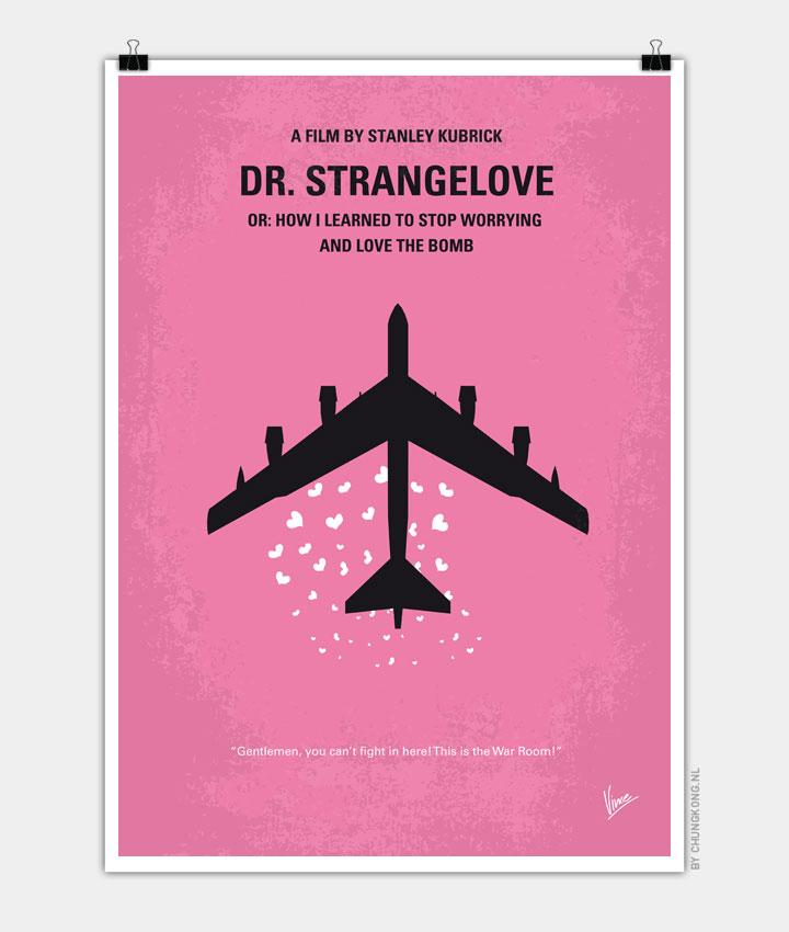 No025 My Dr Strangelove minimal movie poster 720px