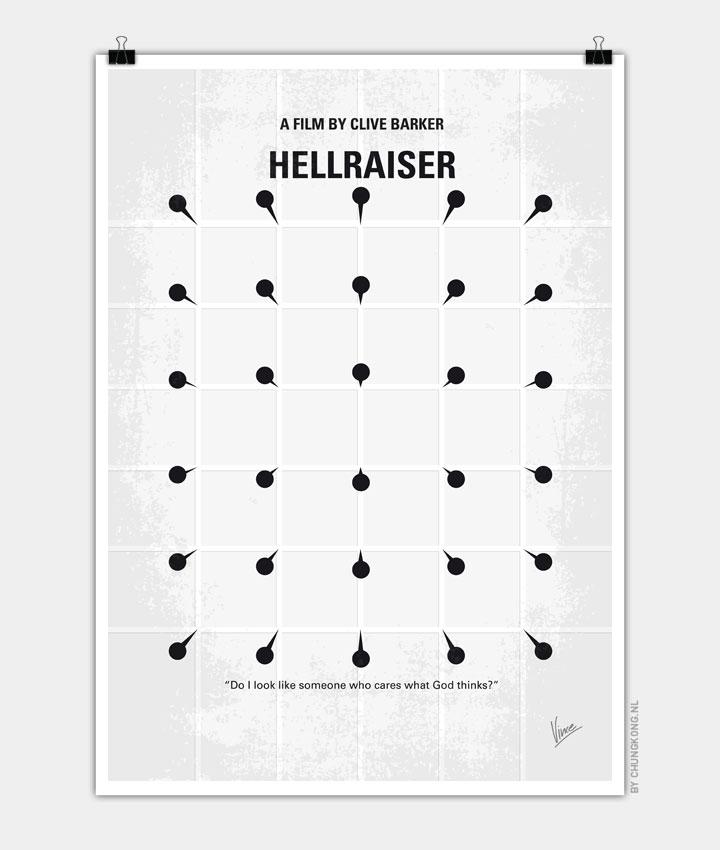No033 My HELLRAISER minimal movie poster 720px