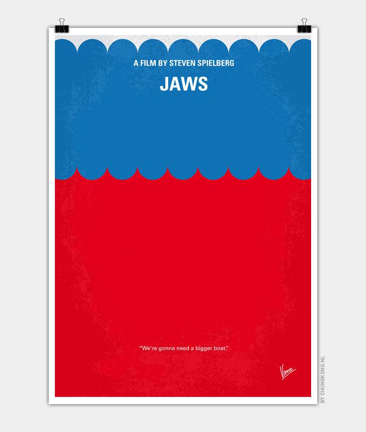 No046 My Jaws minimal movie poster 720px