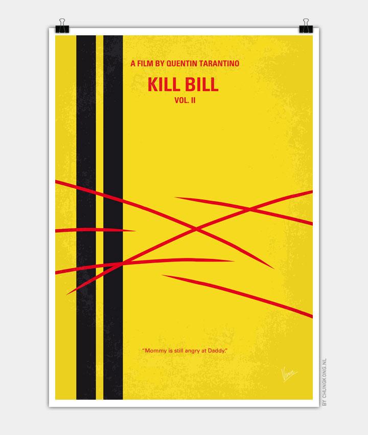 No049 My Kill Bill part2 minimal movie poster 720px