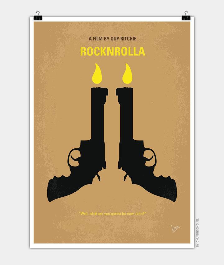 No071 My Rocknrolla minimal movie poster 720px