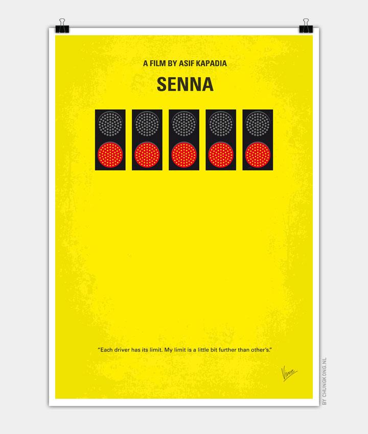No075 My senna minimal movie poster 720px