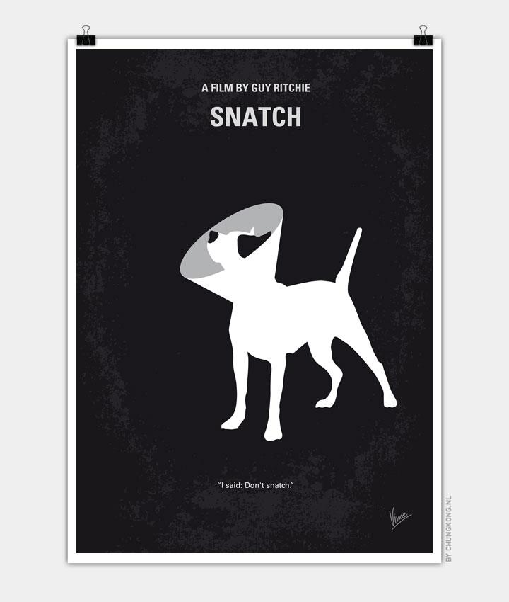 No079 My Snatch minimal movie poster 720px