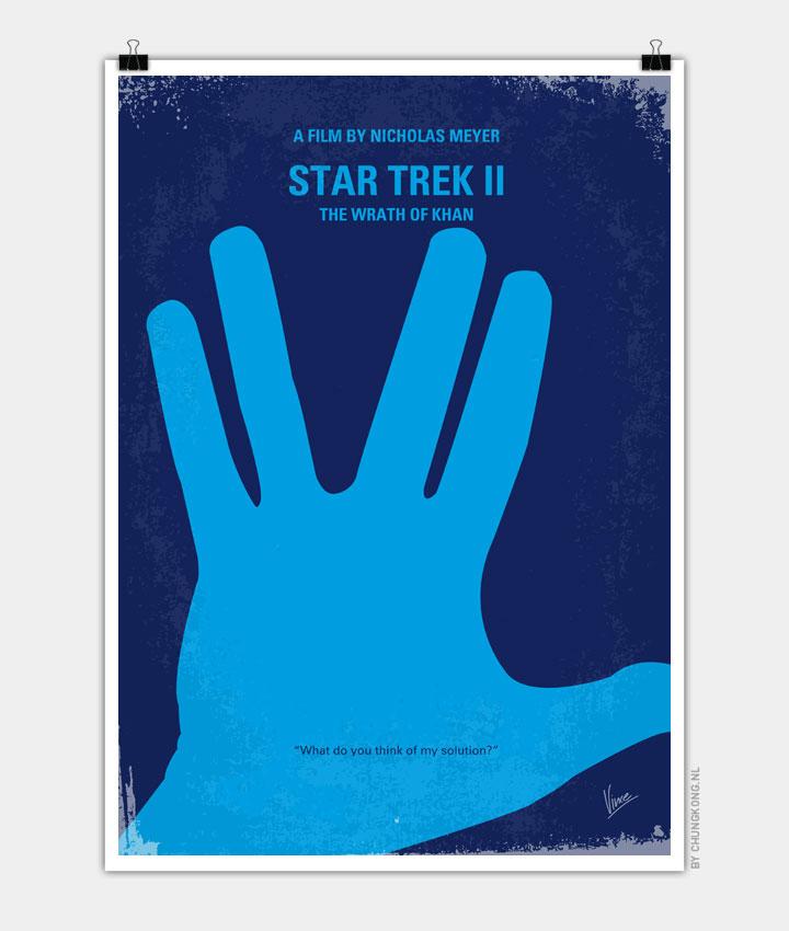 No082 My Star Trek 2 minimal movie poster 720PX