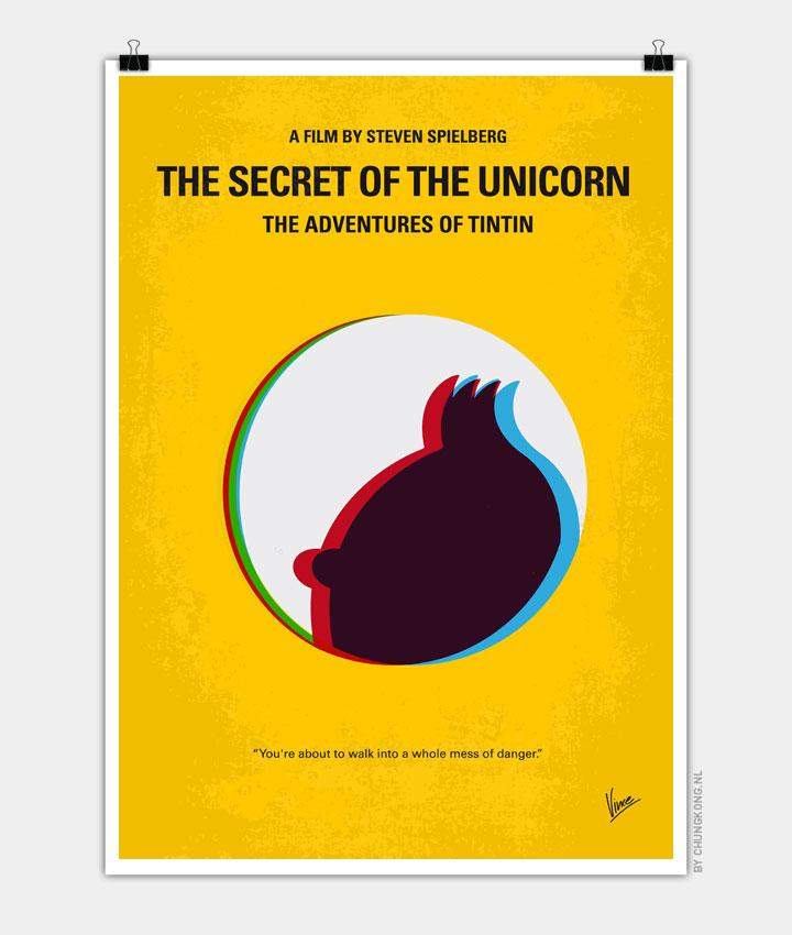 No096 My Tintin The Secret Of The Unicorn Minimal Movie
