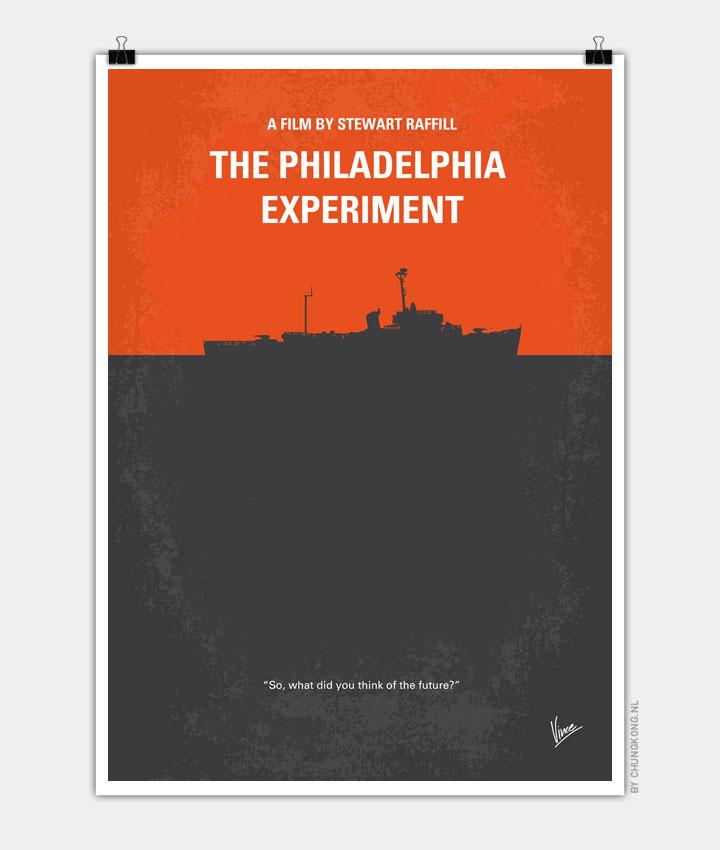 No126 My The Philadelphia Experiment minimal movie poster 720px