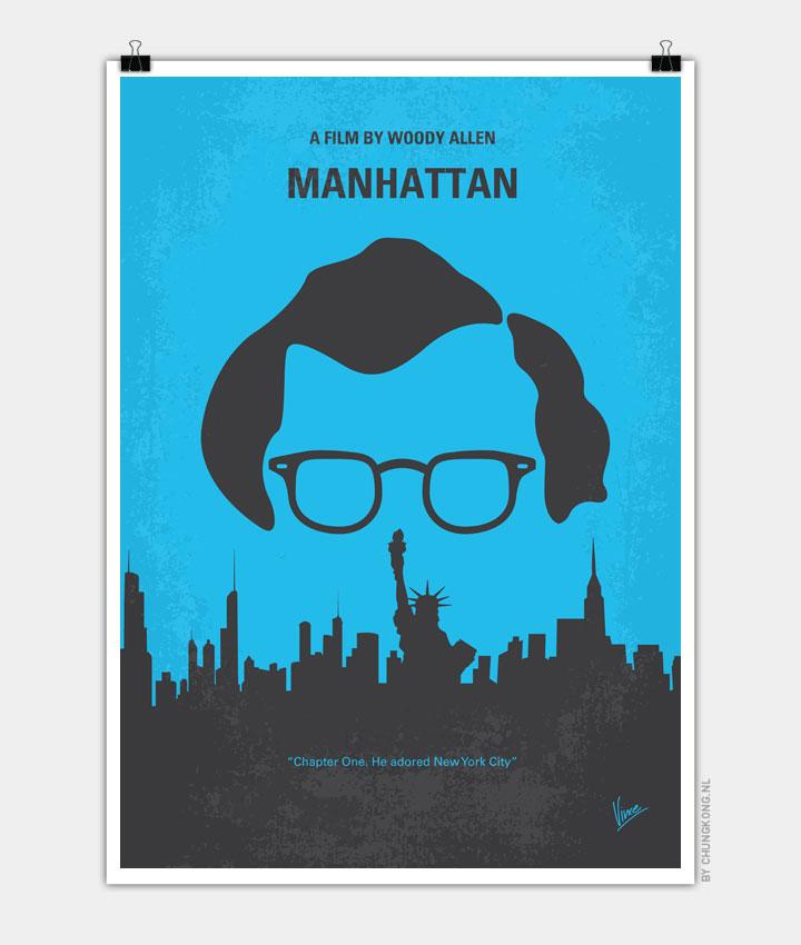 No146 My Manhattan minimal movie poster 720px