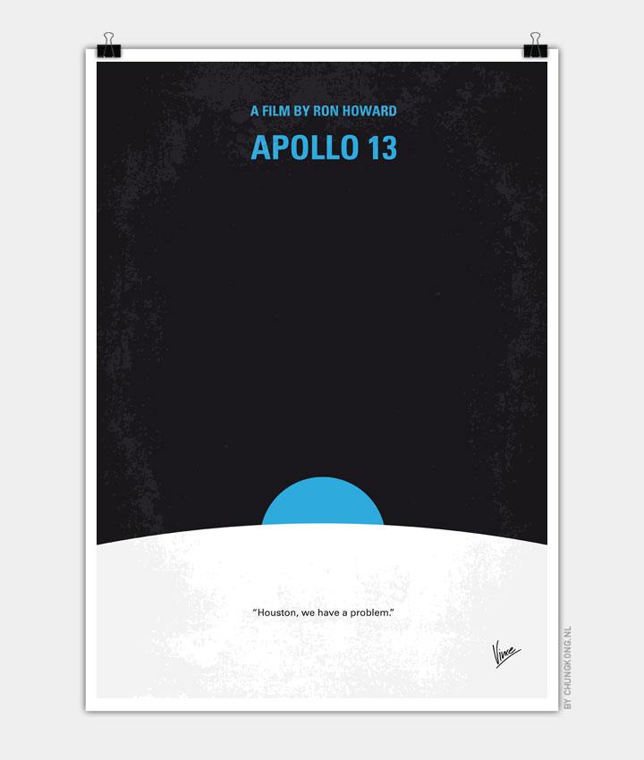 No151 My Apollo 13 minimal movie poster 720px
