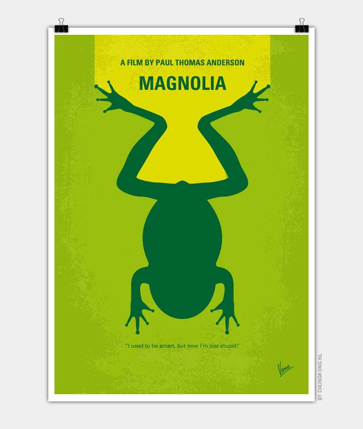 No159 My MAGNOLIA minimal movie poster 720px
