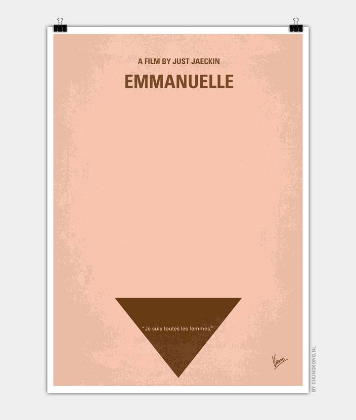 No160 My Emmanuelle minimal movie poster 720px